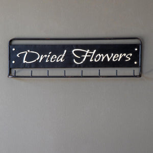Dried Flowers Metal Hanging Rack