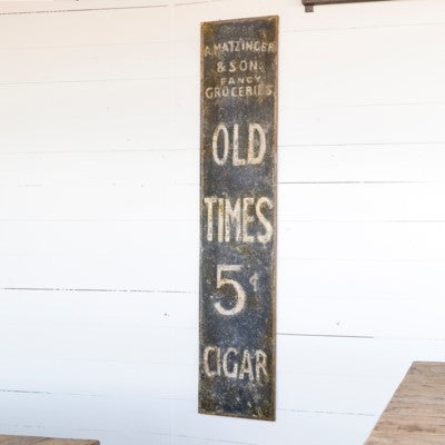 Old Country Store Metal Sign