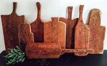 Load image into Gallery viewer, Handmade Hemlock Wood Cutting/Bread/Cheese Board Farmhouse Style