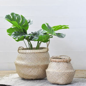 Set of 2 Seagrass Baskets