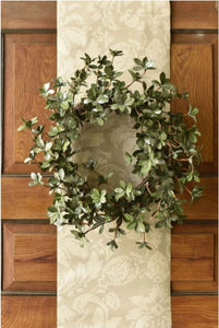 "24"" Shimmering Solstice Christmas Wreath"