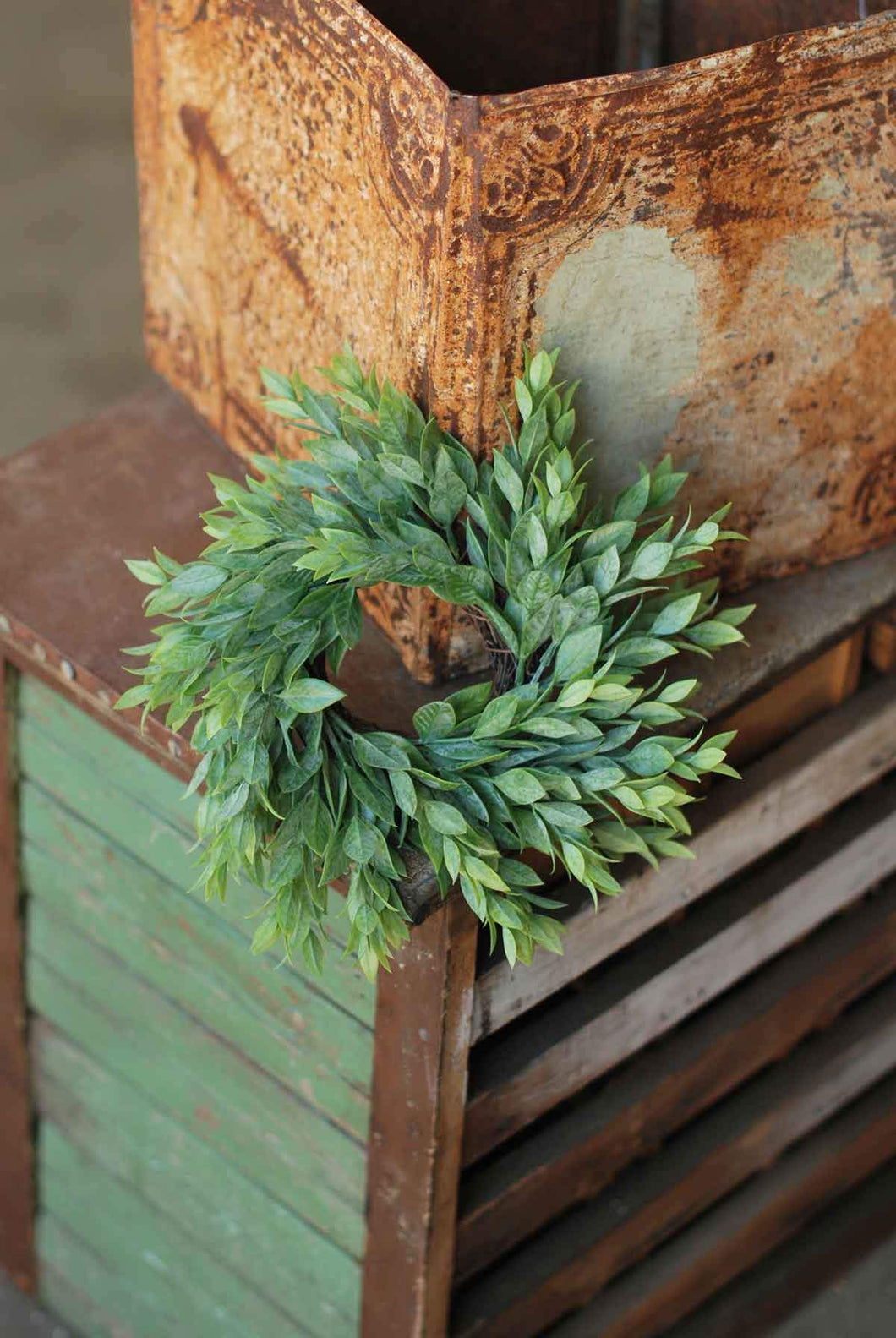 Rainwashed Candle Ring/Wreath 10