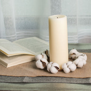 "5"" Cotton Candle Ring"