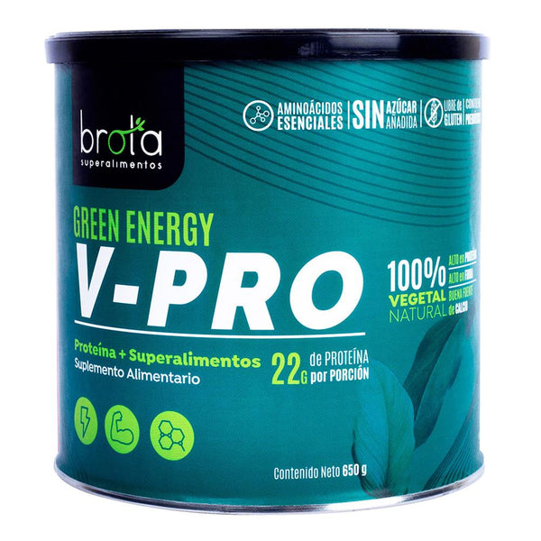 Proteína V-PRO Brota Green Energy 650 gr