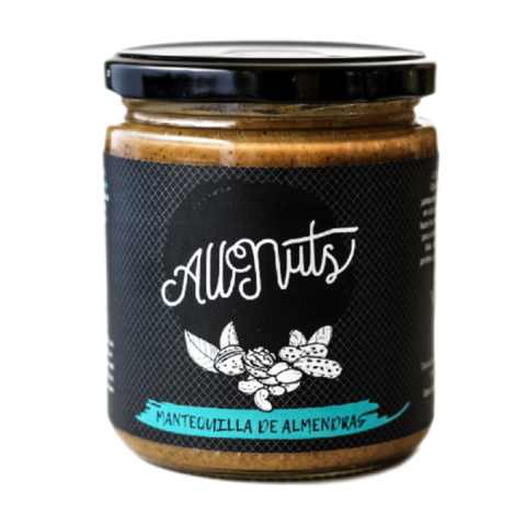 Mantequilla de almendras All Nuts 450 grs