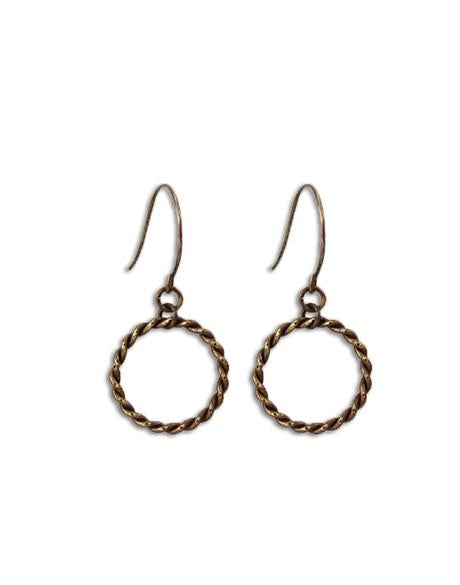 20mm Roped Ring - Sentiment Keeper Earrings