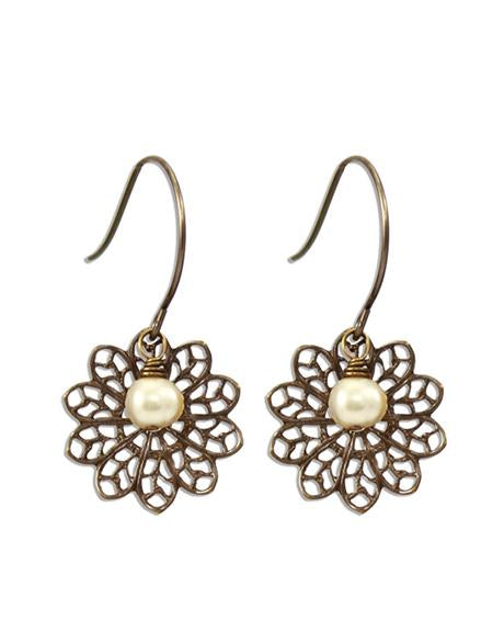 Precious Lace - Sentiment Earrings