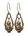 Learning Owl - Sentiment Earrings