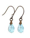Aqua - Jewel Drop Earrings