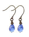 Jewel Drop Earrings - Sapphire