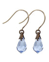 Light Sapphire - Jewel Drop Earrings