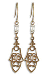 Cathedral Navette Earrings