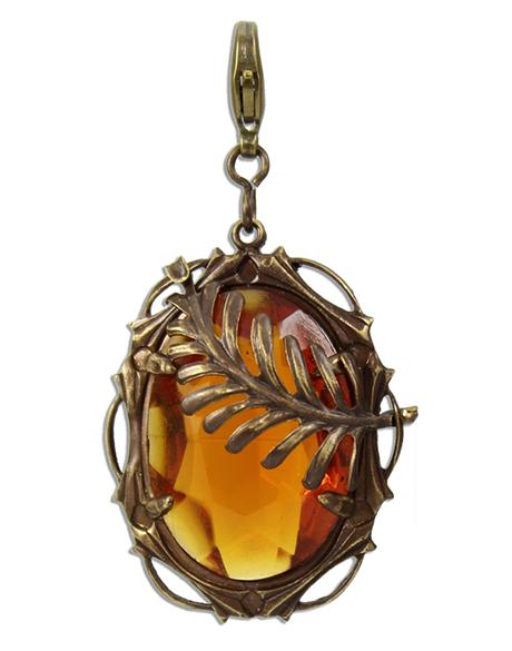 Amber Arching Fern - Adorned Jewel