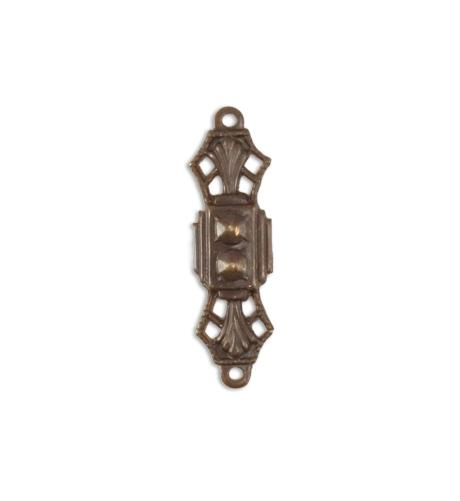 24x7mm Deco Filigree Connector (32 pcs/pkg)
