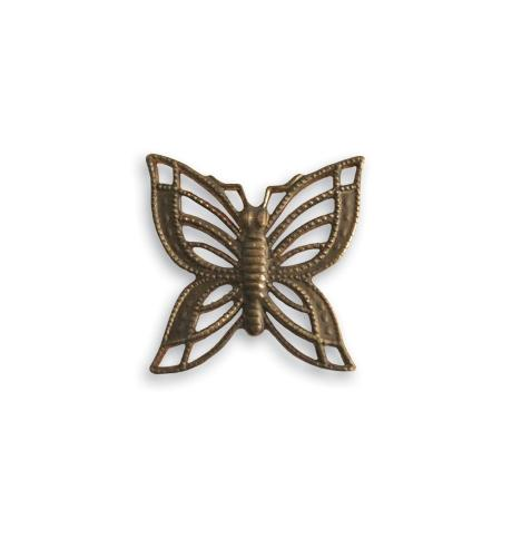 16x16mm Filigree Butterfly (20 pcs)
