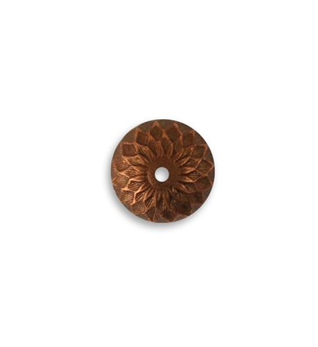 12.5mm Acorn Bead Cap - Artisan Copper (36 pcs)