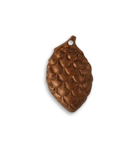 22mm Pine Cone - Artisan Copper (18 pcs)
