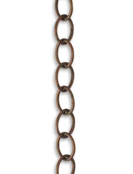 6.2x8.7mm Slender Oval Chain