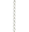 3.7x6.6mm Ladder Chain - Sterling Silver Antique Plated (12 ft)