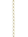 3.7x6.6mm Ladder Chain - 14K Gold Antique Plated (10 ft)