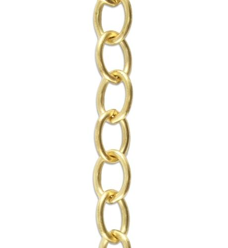 Vogue 8.7mm Rounded Oval Chain (2.5 ft)