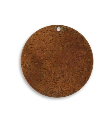 25.5mm Small Circle Blank - Artisan Copper (30 pcs)