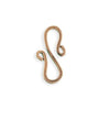 24x13mm S Shaped Hook - Copper Antique Plated (15 pcs)