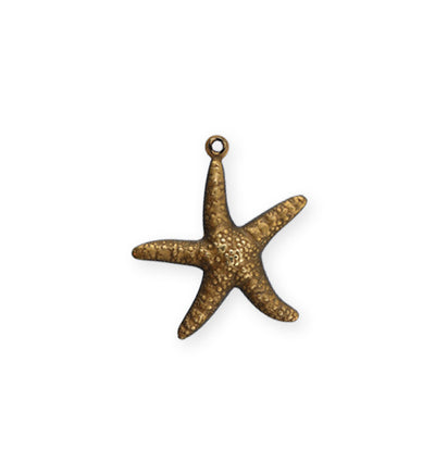 23x20mm Star Fish Double Sided Charm (16 pcs)
