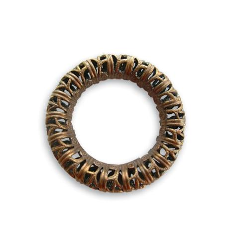 24mm Filigree Ring (12 pcs)