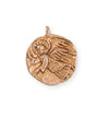 25.5x22mm Guardian Angel [Green Girl Studios] - Rose Gold Antique (1pc)