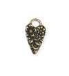 25x15mm Fairy Heart [Green Girl Studios] - Bronze Antique (1pc)