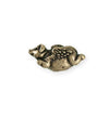 25.5x12.5mm Flying Pig [Green Girl Studios] - Bronze Antique (1pc)