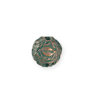 16mm Home Nest [Green Girl Studios] - Copper Verdigris (1pc)