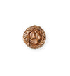 16mm Home Nest [Green Girl Studios] - Rose Gold Antique (1pc)