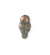 23x12mm Barn Owl [Green Girl Studios] - Copper Verdigris (1pc)