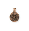 23x16mm Butterfly Dream [Green Girl Studios] - Copper Antique (1pc)