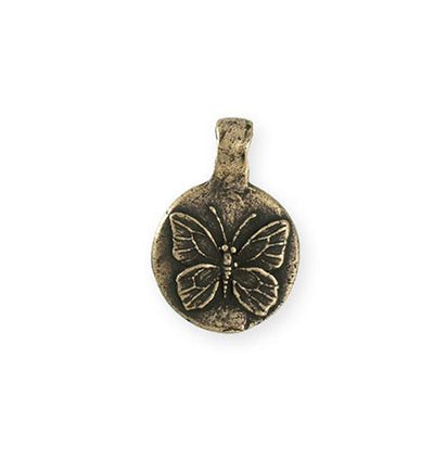 23x16mm Butterfly Dream [Green Girl Studios] - Bronze Antique (1pc)