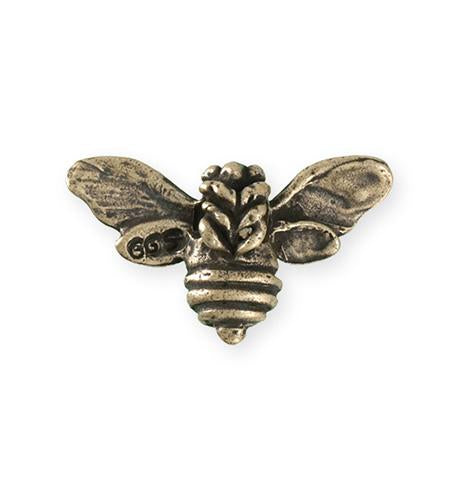 34.5x20mm Honeybee [Green Girl Studios] - Bronze Antique (1pc)