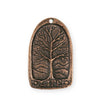34x21mm Tree Of Life [Green Girl Studios] - Copper Antique (1pc)