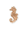 27x13.5mm Seahorse [Green Girl Studios] - Rose Gold Antique (1pc)