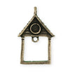 39X25.5mm Home Sweet Home [Green Girl Studios] - Bronze Antique (1pc)