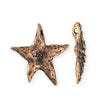 28.5x27.5mm Starfish Wish [Green Girl Studios] - Copper Antique (1pc)