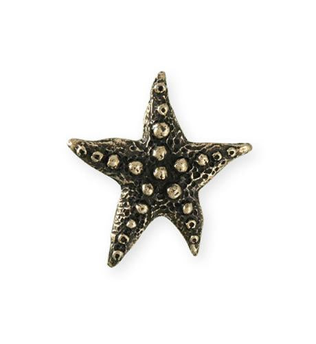 28.5x27.5mm Starfish Wish [Green Girl Studios] - Bronze Antique (1pc)