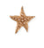 28.5x27.5mm Starfish Wish [Green Girl Studios] - Rose Gold Antique (1pc)