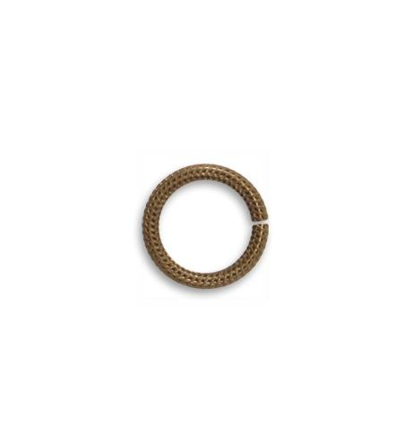 11.25mm Rib Cable 15ga Jump Ring (80 pcs/pkg)