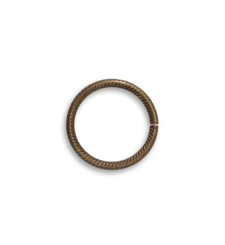 15.25mm Rib Cable 15ga Jump Ring (60 pcs/pkg)