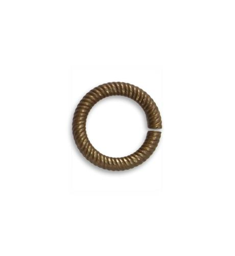 14.5mm Coiled Cable 11ga Jump Ring (30 pcs/pkg)