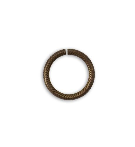 14.25mm Rib Cable 13ga Jump Ring (60 pcs/pkg)