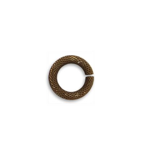 12.25mm  Roped Cable 11ga Jump Ring (30 pcs/pkg)