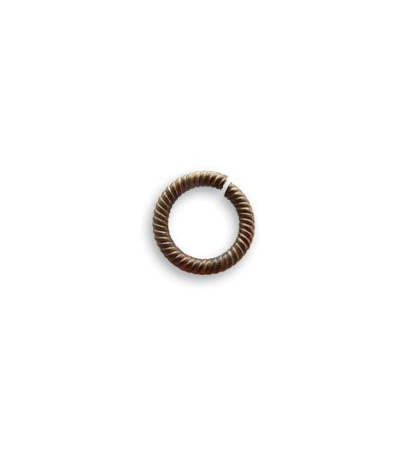 9.25mm Rib Cable 15ga Jump Ring (144 pcs/pkg)